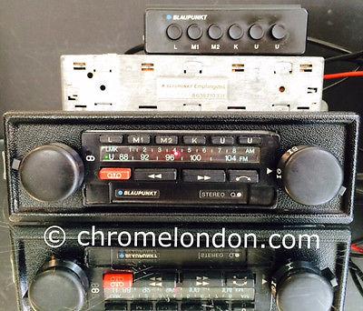 blaupunkt bamberg electronic vintage car stereo radio cassette amp