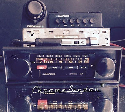 Blaupunkt Bamberg Electronic Vintage Radio Cass Amp Mic