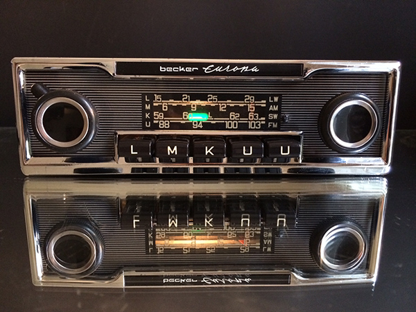 Hidden Radio For Classic Car