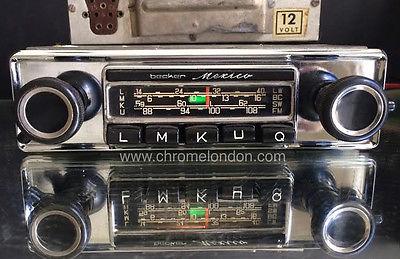 becker mexico us wonderbar vintage classic car fm radio. Black Bedroom Furniture Sets. Home Design Ideas