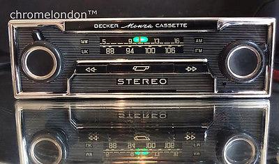 Becker Monza Stereo Vintage Classic Car Fm Radio Cassette
