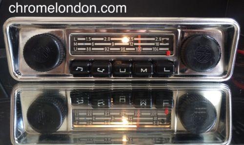 BLAUPUNKT EMDEN VW OEM Vintage Classic Car FM Radio MP3 seeVideo ...