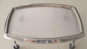 chrome speaker grill 16cm nos universal. Black Bedroom Furniture Sets. Home Design Ideas