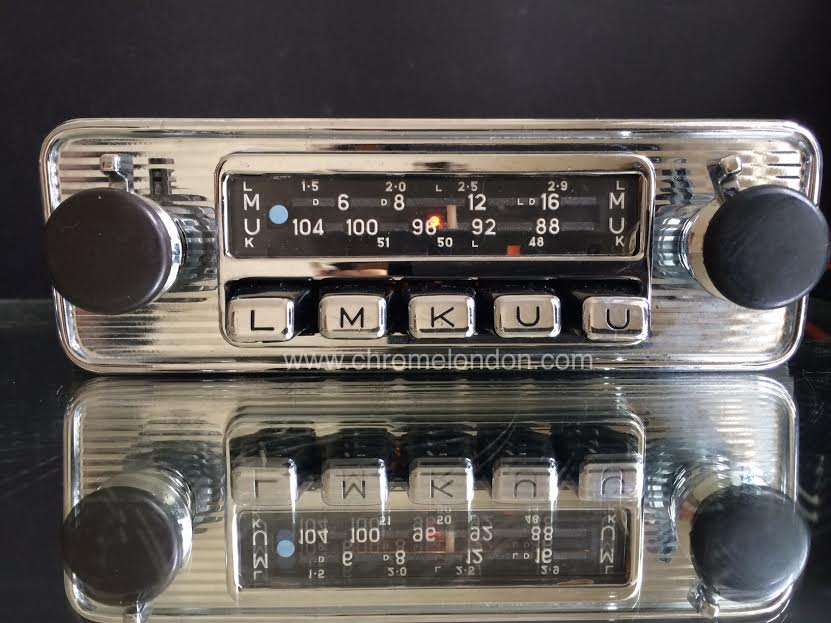 Vintage Car Radio Repair